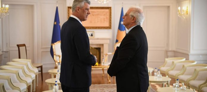 Thaçi dhe Borrell  pajtohen për zgjatje teknike njëvjeçare të mandatit të EULEX it